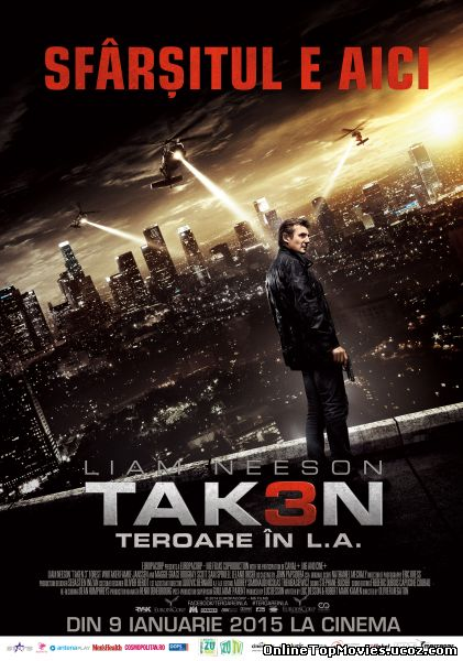 Taken 3 - Teroare in L.A. 2014